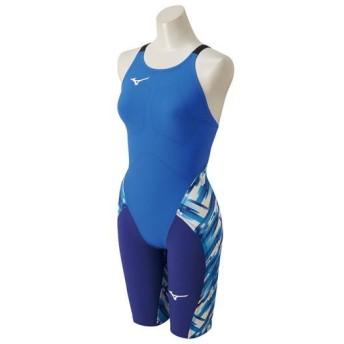 MIZUNO SHOP [ミズノ公式オンラインショップ] 競泳用GX・SONICIII MR ハーフスーツ[ジュニア] 27 ブルー N2MG6202_j