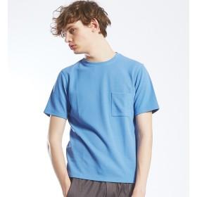 【アバハウス/ABAHOUSE】 鹿の子Wフェイス 半袖Tシャツ