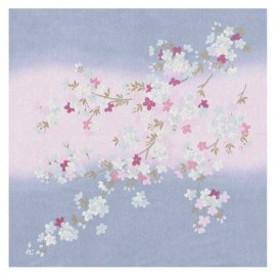 宮井 ふろしき 宇野千代 レーヨン68cm幅 根尾谷の桜 12-7548-05