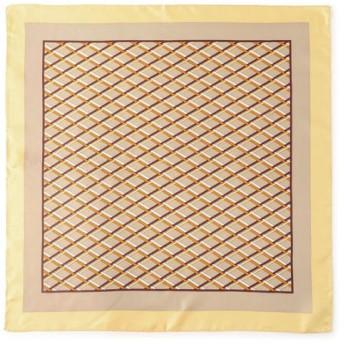 【シップス/SHIPS】 LE VERNIS:GRIDスカーフ