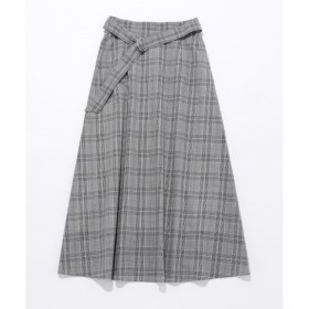 【エニィスィス/any SiS】 【WEB限定色あり・洗える】L'aube コットンローン スカート