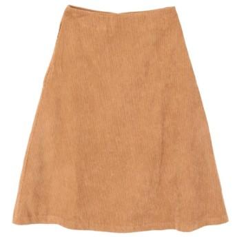 【ティティベイト/titivate】 コーデュロイ台形スカート