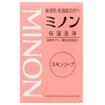 dポイントが貯まる・使える通販| 第一三共ヘルスケア 「ミノン」スキンソープ(80g) ミノンスキンソープ80G(80g 【dショッピング】 洗顔石鹸 おすすめ価格