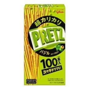 【10個入り】グリコ 超カリカリプリッツバジルオリーブ 55g
