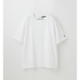 【ラブレス/LOVELESS】 【Champion】MEN 別注ビッグシルエットエンブロイダリーポケットTシャツ
