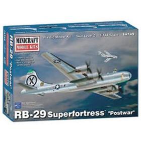 ミニクラフト 1/144 アメリカ軍 B-29A/B スーパーフォートレス POST WAR【MC14749】 プラモデル MC14749 B-29A/B スーパーフォートレス 【返品種別B】