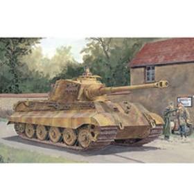 ドラゴンモデル 1/72 WW. II ドイツ軍重戦車キングタイガー ヘンシェル砲塔【DR7558】 プラモデル PZ. DR7558 【返品種別B】