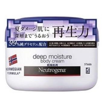 dポイントが貯まる・使える通販| ニュートロジーナ ディープモイスチャー ボディクリーム 乾燥肌用 微香性 (200ml) 【dショッピング】 ボディクリーム おすすめ価格