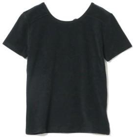 [マルイ] Ray BEAMS / パイル バック リボン Tシャツ/レイ ビームス(Ray BEAMS)