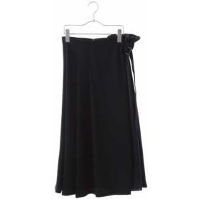 (HIROKO BIS/ヒロコビス)【洗える】アシメトリーデザインスカート/レディース ネイビー 送料無料