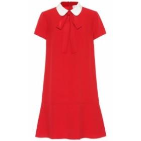 レッド ヴァレンティノ REDValentino レディース ワンピース ワンピース・ドレス Crepe dress Deep Red/ Latte