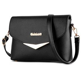 2017年のファッショントレンド女性のハンドバッグ袋のハンドバッグのショルダー・バッグレトロカジュアルメッセンジャーバッグ女性用,ブラック