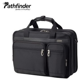 パスファインダー Pathfinder バッグ ビジネスバッグ ブリーフケース ショルダー メンズ AVENGER ブラック 黒 PF1802B 7/23 新入荷