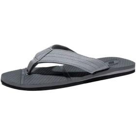 NeedBo NDBサンダルビーチサンダルメンズビーサン軽い歩きやすい布島ぞうり防滑海水浴旅行プール室内履き27.5センチメートル(27.5センチメートル、グレー)