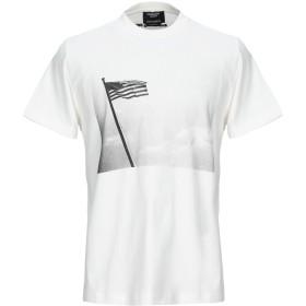 《期間限定セール開催中!》CALVIN KLEIN 205W39NYC メンズ T シャツ ホワイト XS コットン 100%
