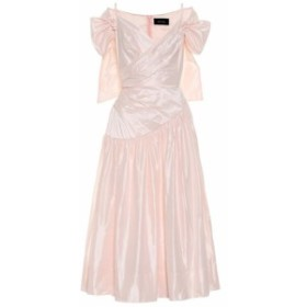 シモーネ ロシャ Simone Rocha レディース ワンピース ワンピース・ドレス Satin midi dress Pink