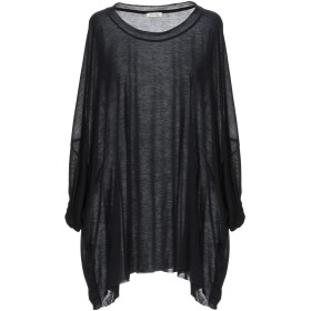《9/20まで! 限定セール開催中》AMERICAN VINTAGE レディース T シャツ ブラック one size レーヨン 90% / ウール 10%