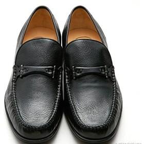マレリー Marelli 4219 ビジネス 紳士靴 (24.5, ブラック)