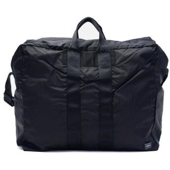 ギャレリア 吉田カバン ポーター PORTER FLEX フレックス ボストンバッグ 2WAY DUFFLE BAG(L) 日本製 856 07419 ユニセックス ブラック F 【GALLERIA】