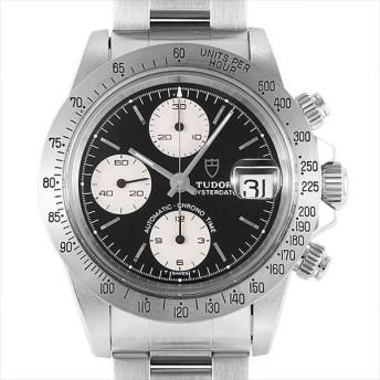 48回払いまで無金利 チューダー クロノタイム 79180 カマボコケース 前期ダイアル ブラック×シルバー 中古 メンズ 腕時計