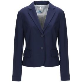 《期間限定セール開催中!》BLUEFEEL by FRACOMINA レディース テーラードジャケット ダークブルー S ポリエステル 90% / ポリウレタン 10%