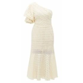 ジョアンナオッティ Johanna Ortiz レディース ワンピース ワンピース・ドレス Better than Gold one-shoulder cotton dress ivory
