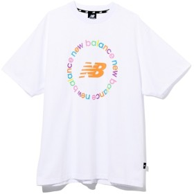 (NB公式) ≪ログイン購入で最大8%ポイント還元≫ New Balance × atmos Tシャツ (WT ホワイト) 男性/メンズ/mens ニューバランス newbalance