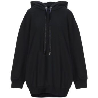 《セール開催中》STELLA McCARTNEY レディース スウェットシャツ ブラック 38 コットン 100% / ポリウレタン