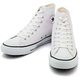 [コンバース] LEA ALL STAR HI(レザーオールスターHI) 1B907 ホワイト(メンズ) 27.0cm