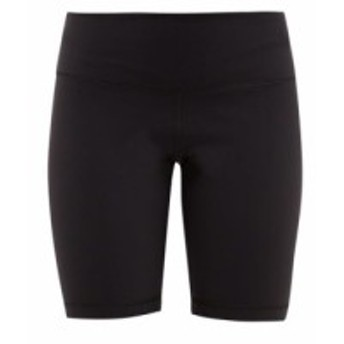 ワードローブ ニューヨーク WARDROBE.NYC レディース ボトムス・パンツ 自転車 High-rise technical jersey cycling shorts black