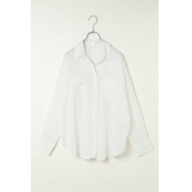 [マルイ] 綿シフォンオーバーシャツ/イッカ レディース(ikka)