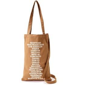 【公式/フリーズマート】シティロゴトートバッグ/女性/バッグ.サイフ.ケース.ポーチ/ブラウン/サイズ:/