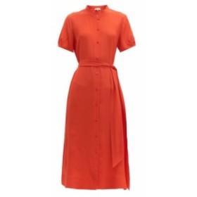 ダイアン フォン ファステンバーグ Diane Von Furstenberg レディース ワンピース ワンピース・ドレス Mia belted silk-crepe midi dress
