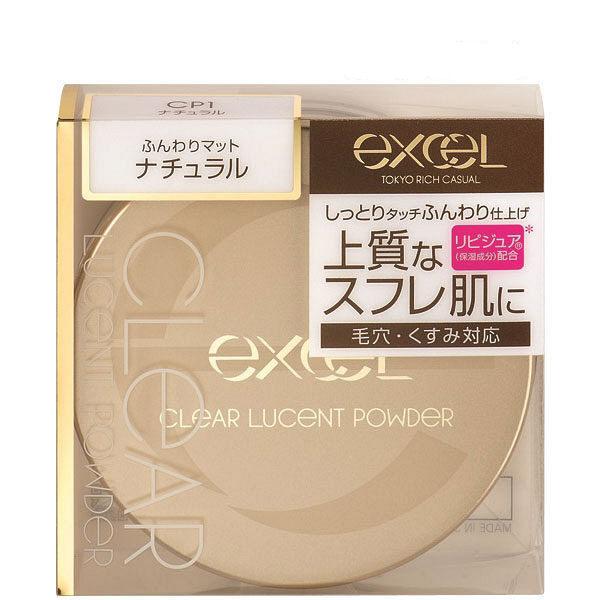EXCEL 光感透亮蜜粉 自然裸膚 01 20g