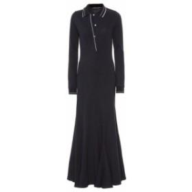 ワイプロジェクト Y/PROJECT レディース ワンピース ワンピース・ドレス Cotton maxi dress Dark Navy