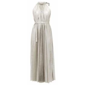 アウェイク モード A.W.A.K.E. Mode レディース ワンピース ワンピース・ドレス Oyster halterneck midi dress silver