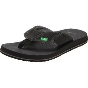Sanuk メンズ Fault Line Men's Sandal Footwear US サイズ: 10 カラー: ブラック