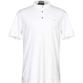 《期間限定セール開催中!》FRED PERRY メンズ ポロシャツ ホワイト XXL コットン 95% / ポリウレタン 5%