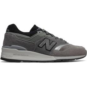 (ニューバランス) New Balance 靴・シューズ メンズライフスタイル 997 Winter Peaks Grey with Black グレー ブラック US 6.5 (24.5cm)