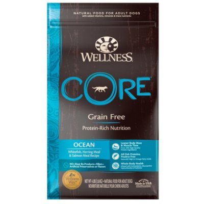 白鮭 22磅$2830 /Wellness寵物健康 CORE 成犬飼料 成犬糧 無麩質成份/WDJ推薦/