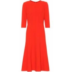 オスカー デ ラ レンタ Oscar de la Renta レディース ワンピース ワンピース・ドレス Stretch wool crepe dress Cayenne