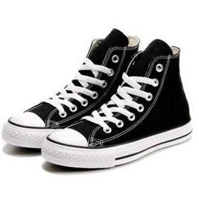 RISEHNG スニーカースリップカジュアルシューズ運動靴軽量キャンバス低と高単純カット, black high gang, 44