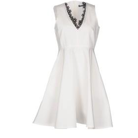 《セール開催中》SPORTMAX CODE レディース ミニワンピース&ドレス ホワイト 40 コットン 100%