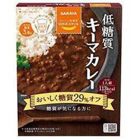 【送料無料】サラヤ ロカボスタイル 低糖質キーマカレー 140g×24(6×4)箱入