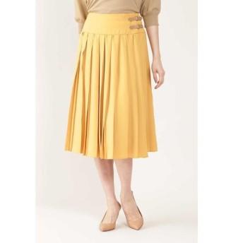NATURAL BEAUTY / ナチュラルビューティー ◆アムンゼンミニベルト付プリーツスカート