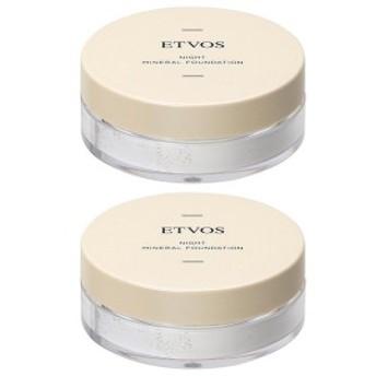 ETVOS エトヴォス ナイトミネラルファンデーション C 5g 2個セット