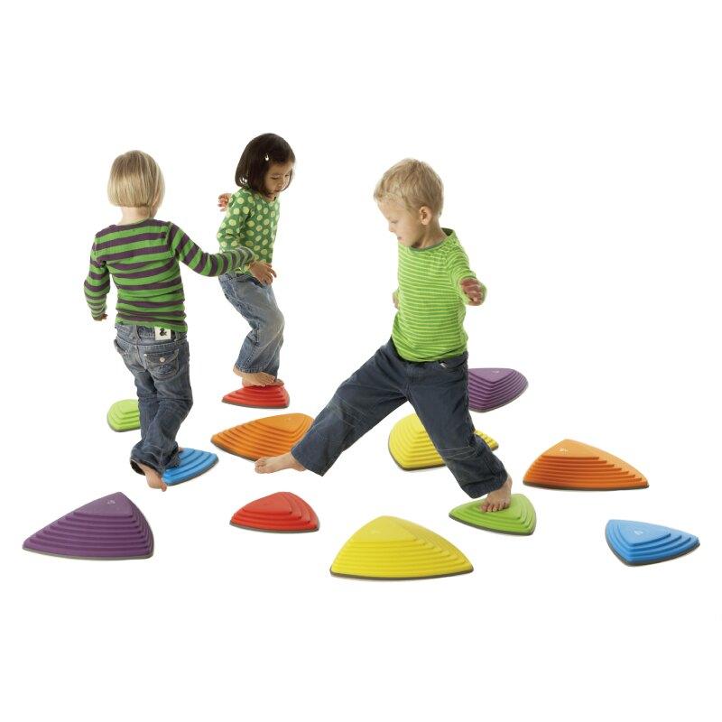 【華森葳兒童教玩具】感覺統合系列-感統河石 B2-2120