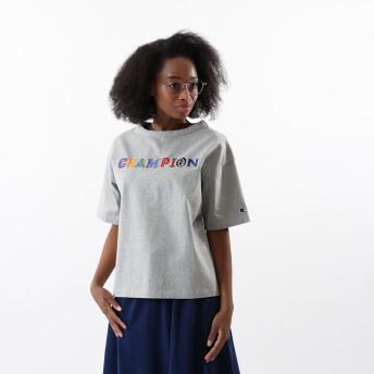 ウィメンズ Tシャツ 19FW【秋冬新作】チャンピオン(CW-Q302)【5400円以上購入で送料無料】