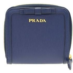 pretty nice e9000 543d7 ボーナスセール】1本限り プラダ 二つ折り財布 レディース PRADA ...
