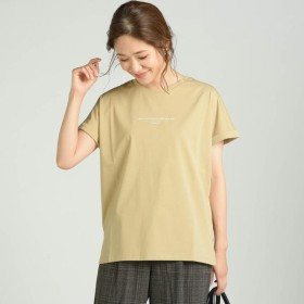 [マルイ]【セール】シルケット天竺ロゴTシャツ/メイソングレイ(MAYSON GREY)